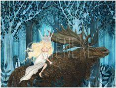 Princess Tuvstarr and Longleg Skutt by Tieneke.deviantart.com on @deviantART