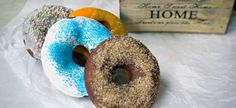 Ντόνατς #Homemade #donuts #cooking #recipes