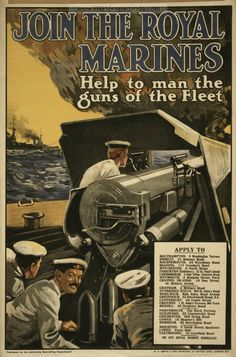 Examples of Propaganda from WW1 | WW1 Marine Posters Page 2