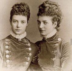 Alexandra Of Denmark, Queen Victoria Family, Christian Ix, Maria Feodorovna, Vintage Twins, Danish Royal Family, Danish Royals, Royal House, British History