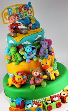 Love the color!  Kids Cake by Viorica (www.viorica-torturi.ro)