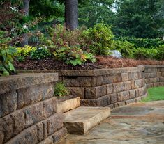 The Diamond retaining wall system has the advantages of a lighter weight and softened contours. Legacy Collection, Cabinets, Rustic, Diamond, Outdoor, Courtyards, Armoires, Country Primitive, Outdoors