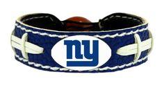 New York Giants Team Color Football Bracelet Z157-4421402227