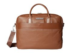 TOMMY HILFIGER Morgan Briefcase Leather. #tommyhilfiger #bags #shoulder bags #hand bags #leather #crossbody #
