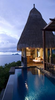 MAIA HOTEL in the Seychelles: Perfect vacation on the beach! - Schöne Hotels & Luxus Resorts: Die schönsten Hotels der Welt - Welcome Decor Oh The Places You'll Go, Places Around The World, Places To Travel, Around The Worlds, Vacation Destinations, Dream Vacations, Vacation Spots, Italy Vacation, Beautiful World