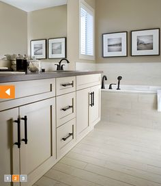 master bath cabinets and tile