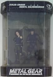McFARLANE TOYS SPECIAL EDITION SOLID SNAKE AND MERYL SILVERBURGH 2体セット