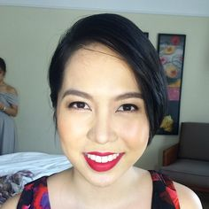 #MakeupByAimeeG Golden glow and red lips for my good friend ANN  using @narsissist FACE @urbandecaycosmetics EYES @anastasiabeverlyhills BROWS @maccosmetics #RubyWoo LIPS Makeup by @loveaimeeg Hair by @khylelimino #weddingsph #weddingsmanila #bridesmaid #makeupartistph #makeupartist #hmua #hmuaph #mua #muaph #makeup #hairstylist #hair #beauty #fashion #glam by makeupbyaimeeg