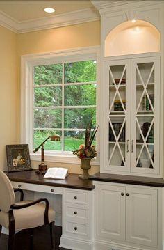 I would love a window desk.