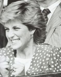 princess diana 1984 photo: Princess Diana Diana-In-Black--White124.jpg