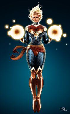 marvel carol danvers | Feige Speaks out about Female Superheroes!