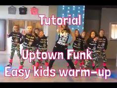 Tutorial - Uptown Funk - Easy warming-up kids - Saskia's Dansschool - YouTube
