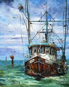 Coming Home Painting by Dianne Parks