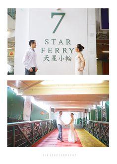 Hong Kong engagement photography Star Ferry 天星小輪   https://www.facebook.com/airsphotography/