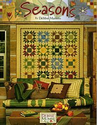 #Quilt #Pattern #Seasons by #Debbie #Mumm by GabbysQuiltsNSupply, $19.98