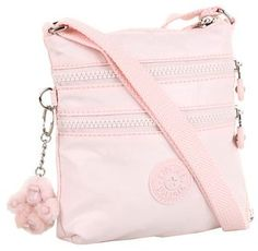 Shop Women's Kipling Pink size OS Crossbody Bags at a discounted price at Poshmark. Sacs Kipling, Kipling Handbags, Kipling Backpack, Backpack Purse, Purse Wallet, Pouch, Vf Corporation, University Bag, Pink Crossbody Bag