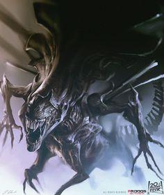 Alien Queen by daRoz.deviantart.com on @DeviantArt