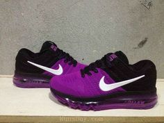 New Coming Nike Air Max 2017 KPU Purple Black Women Shoes