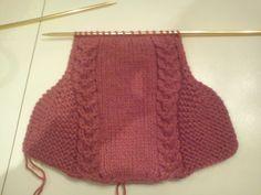 Tanti Punti Blog!: Schema dal web: Babbucce a maglia semplici ma splendide!