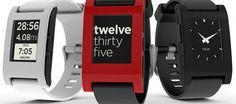 Pebble SmartWatch For iPhone, Android Review