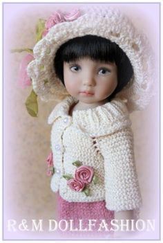 R-M-DOLLFASHION-SPRING-LINE-OOAK-outfit-for-Effner-LITTLE-DARLING-13-doll