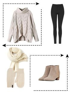 """""""Cable Knit Cosy"""" by paris4evs ❤ liked on Polyvore featuring Topshop, Lacoste, Augusta and GANT"""