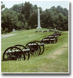 Vicksburg National Military Park ~ Vicksburg, Mississippi.