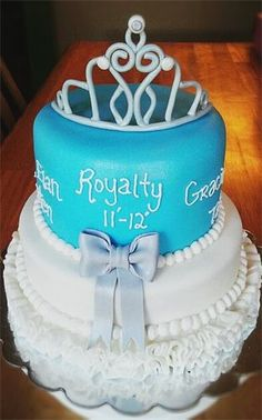 Beauty Pageant Cake