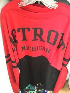 Generic Detroit Boxercraft Pom Pom Pullover- Red With Black