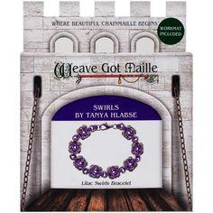 Chainmaile+Bracelet+Jewelry+Kit-Lilac+Swirl/Lavender