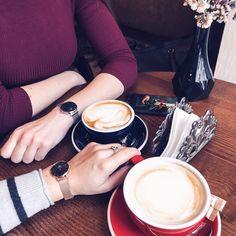 #danielwellington #coffeetime #bff