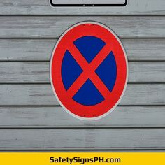 Absolute Stop Ban Sign Philippines Chicago Cubs Logo, Philippines, Safety, Peace, Signs, Security Guard, Shop Signs, Sobriety, Sign