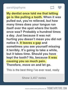 this honestly made me think