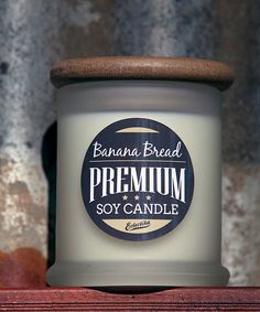 $29.95 Gourmet Food Candle Cafe Range, Premium Soy Candle, Banana Bread Soy Candle by Eclectika Home