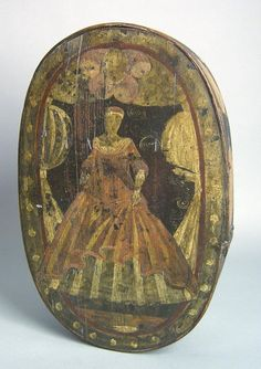 Bentwood brides box, ca. 1800, with bride