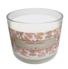 lc lauren conrad jasmine vanilla candle {proceeds go toward the fight against breast cancer}