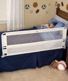 Another great find on #zulily! White Extra-Long Hideaway Bed Rail by Regalo #zulilyfinds