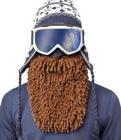 ORIGINAL BeardSki Ski Mask For Snowboarders & Skiers with Attitude - Rasta Brown   eBay