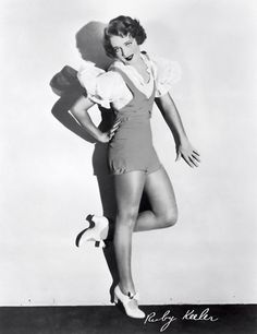 ruby keeler, love this woman