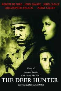 The Deer Hunter. De Niro, Walken   Saw this movie when I was in college and never got it out of my head