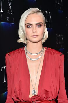 Cara Delevingne Photos Photos - Actor Cara Delevingne at CinemaCon 2017 The State of the Industry: Past, Present and Future and STXfilms Presentation at The Colosseum at Caesars Palace during CinemaCon, the official convention of the National Association of Theatre Owners, on March 28, 2017 in Las Vegas, Nevada. - CinemaCon 2017 - The State Of The Industry: Past, Present And Future And STXfilms Presentation