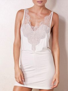Naked Princess Lovely Ever After Cashmere & Lace Chemise