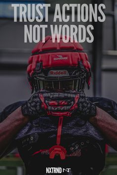 Trust is earned when actions meet words. #FootballQuotes #SportQuotes #Motivation #Inspiration #Football #Nxtrnd #Training Football Motivation, Athlete Motivation, Sport Motivation, Motivational Quotes For Athletes, Athlete Quotes, Sport Inspiration, Motivation Inspiration, Best Football Quotes, Sport Quotes