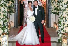 Frank James Lampard's wedding in London