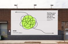 Point // stride Identity Design, Visual Identity, Book Design, Layout Design, Billboard Design, Creative Advertising, Graphic Design Typography, Graphic Design Inspiration, Signage