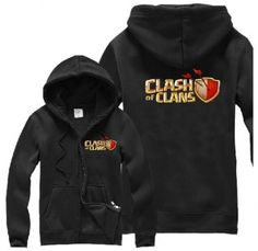Cool Clash of Clans hoodie for men COC game long sleeve