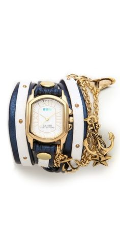 La Mer Collections Chateau Wrap Watch | SHOPBOP | Use Code: EXTRA25 for 25% Off Sale Items