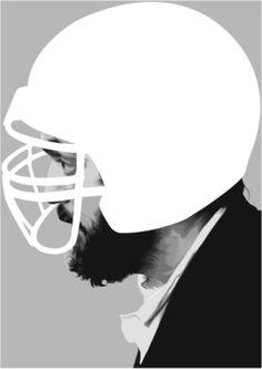 advertisement idea - similar to mao helmet picture