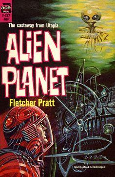 Alien Planet #pulp #fiction #art #cover #scifi