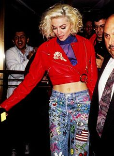 90's Madonna NYC Style